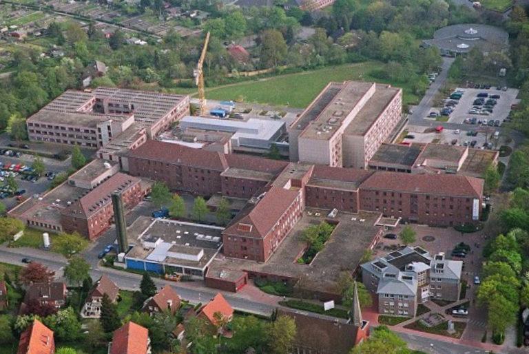 Luftbild von der Neurochirugie Emden